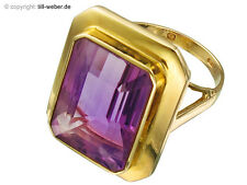 "Ring Gold ""Amethyst"" ca. 1955"