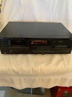 JVC Stereo Double Cassette Deck TD-W777