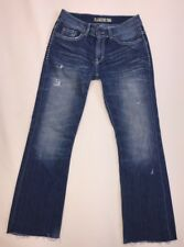 BKE Blue Denim Culture Jeans Pants Size 28 X 31.5 Cute