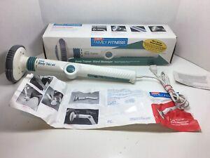Conair Body Trainer 2 Speed Massage Vibrator Adjustable Bendable Wand WM50FF