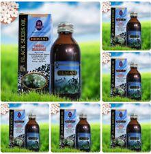 6 x Hemani Black Seed Cumin Nigella Sativa Oil Pure Natural Kolanji Oil  125ml