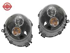 2009-2015 MINI Cooper R57 Euro JCW Projector Headlight S Clubman - BLACK
