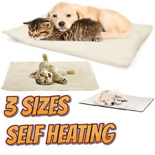 Self Heating Dog Cat Pet Bed Mat Thermal Radiator Heated Pad Washable Kitten