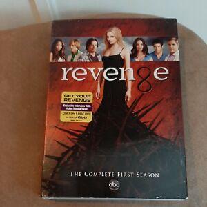 REVENGE COMPLETE FIRST SEASON 1 Classic ABC TV Series 5 DVD SET NEW SEALED