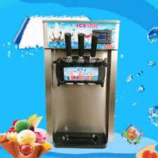 3 Aromen Gefrorene Soft Eiscreme-Maschinen Joghurt KegelHersteller Kommerziell.