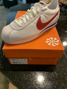 Size 9 - Nike Cortez AW QS Forrest Gump Red/White/Blue