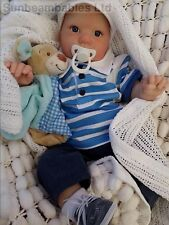 SUNBEAMBABIES DONNA RUBERT  REALISTIC CHUNKY 7LBS REBORN TODDLER BABY DOLL 24""
