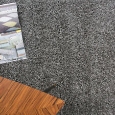 "Soft Plain Grey Thick Cheap Non Shed Shaggy Rug Large Bedroom Home Living Room 60x110cm (2'x3'7"")"