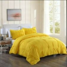 COMFORTER SOLID 100% EGYPTIAN COTTON ALL SIZE AVAILABLE IN YELLOW COLOR