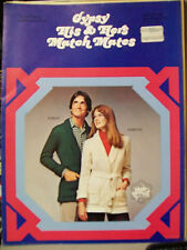 GYPSY HIS & HERS MATCH MATES KNITTING PATTERNS SWEATERS JACK FROST #216