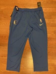 Nike NBA Dallas Mavericks On-Court Warm Up Pants Blue AV1442-480 Mens Size 2XL