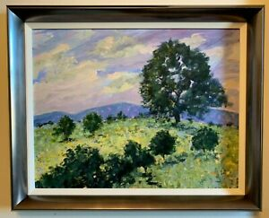 Galloway Landscape | Acrylic Painting on Board | Adrienne Perfect