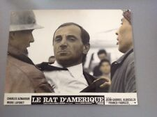 PHOTO D'EXPLOITATION (LOBBY CARD) : LE RAT D'AMÉRIQUE (Aznavour - Laforet)