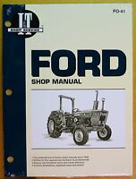 New Ford Shop Manual for Tractor Models 2610 3600 3610 4110 4600 4610 #FO-41