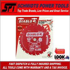 "FREUD DIABLO 24T 7-1/4"" 185mm TIMBER CUTTING CIRCULAR SAW BLADE 16mm BORE D0724X"