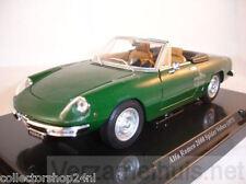 Atlas Fabbri : Alfa Romeo 2000 Spider Veloce 1971 Green 1:24 item P4025