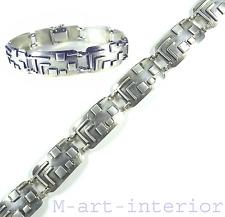 ART DECO bracelet argent Hungarian Modernist silver bracelet Hongrie de 1930