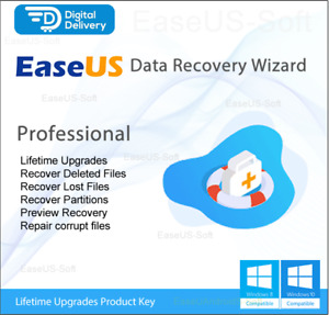 EaseUS Data Recovery Pro 14.5 - Lifetime Upgrades (Not Pirated)