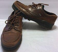 Ecco Track II 2 Low Brown Leather Waterproof GTX Gore-tex Hiking Shoe Sz 14 US