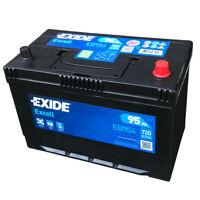 EXIDE Excell EB954 12V 95AH Starter Auto Batterie EN(A):720