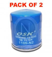 OSAKA OIL FILTER OZ543 INTERCHANGEABLE WITH RYCO Z543 (BOX OF 2)
