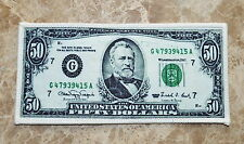 5 pcs Dollars $50 Fifty Dollar Bills Cash Money Currency Applique Iron On Patch
