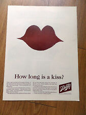 1964 Schlitz Beer Ad   How long is a Kiss?