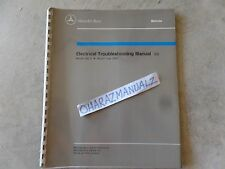 1983 Mercedes Benz Model 240D Electrical Troubleshooting Service Manual
