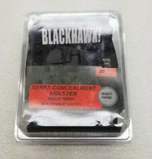"NEW Blackhawk! Serpa Concealment Holster RH #20 For S&W J Frame 2"" (not 357)"
