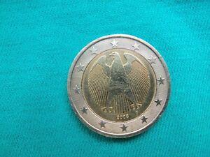 2 euro fautée/allemagne/2008