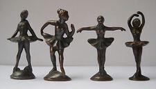 Metallfiguren Soldatini Kinder Serie Tanzerin Ballerine brunite