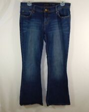 The Limited Womens Blue Denim Boot Cut Jeans Sexy Drew Fit Size 6