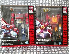 TransFormers POTP Rodimus Major Optimus Prime Orion Pax G1 Evolution Leader Lot