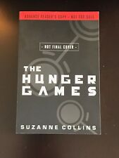 The Hunger Games by Suzanne Collins Advance Reader's Copy First Edition in Wraps