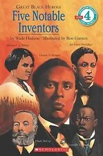 (Good)-Great Black Heroes: Five Notable Inventors (Level 4) (Paperback)-Hudson,