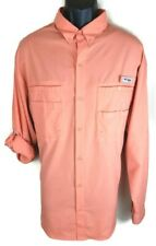 Columbia PFG Mens Shirt Size XL Extra Large New Tamiami Long Sleeve Button Front
