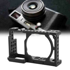 "Black Camera Video Cage Stabilizer Rig 1/4"" Screw For Sony A6000 / A6300 / NEX7"