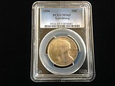 1936 Lynchburg Commemorative Half Dollar PCGS MS65