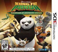 Kung Fu Panda: Showdown of Legendary Legends (Nintendo 3DS, 2015) new