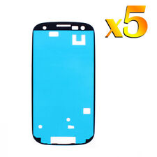 5x For Samsung Galaxy S3 S III Touch Screen Glass Adhesive Sticker Replacement