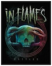 IN FLAMES - Patch Aufnäher - Battles 8x10cm