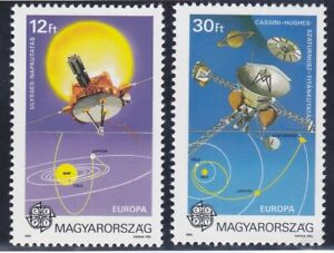 Hungary 3286-87 MNH 1991 Ulysses Probe & Cassini-Huygens Probe EUROPA Set