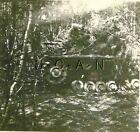 WWII Large (3.62 x 3.5) REPRO Photo- Panzer Tank- Panzerkampfwagen- Camouflage