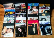 """32 80s / 90s DANCE POP 7"""" VINYL SINGLES COLLECTION/ LOT (LISTED) - VG+"""