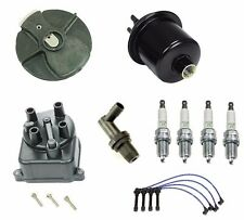 Tune Up Kit Gas Filter NGK Wires & Plugs Cap Rotor For Honda Civic 1.6L 96-00