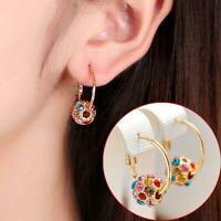 1 Paar Frauen stilvolle Glückskugel Ohrringe Legierung Ohrringe Schmuck S8Y5