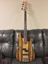Fender/Warmouth American Deluxe Precision Electric Bass Guitar