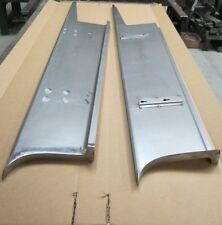 "new 1937 Chevrolet 2"" Wider Car Smooth Steel 16g Running Boards all Models"