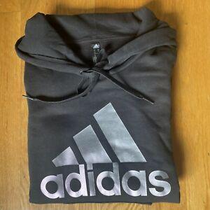 Adidas Youth Black & Purple Fleece Hoodie Size XS