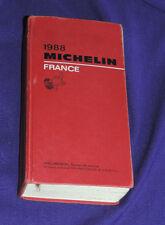 GUIDE MICHELIN FRANCE 1988